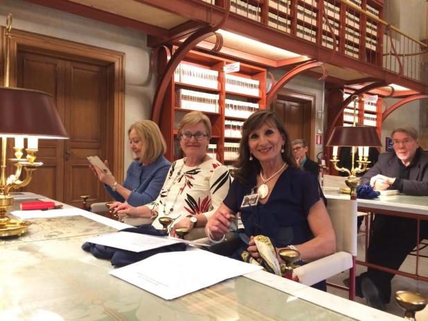 Gli autori festeggiano la Donna alla Camera dei Deputati