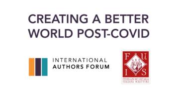 La FUIS in videoconferenza con International Authors Forum - I problemi degli scrittori di tutto il mondo con il COVID 19